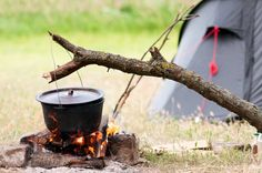 We would love to be cooking on a campfire and enjoying nature