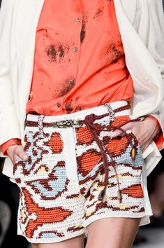 Jo No Fui at Milan Fashion Week Spring 2013 - (Details) Shorts