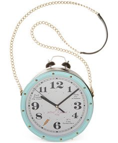 Betsey Johnson Clock Crossbody