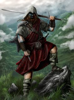Celtic Assassin's Creed Fan-art