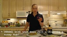 Get #unreal flavor with this recipe for #NapaJacks #Chipotle & #Honey Rubbed #CornOnTheCob!   Napa Jack's Rubs & Sauces available @ Wine Country Kitchens: http://winecountrykitchens.com  * Subscribe to Cooking With Kimberly: http://cookingwithkimberly.com #cwk @CookingWithKimE