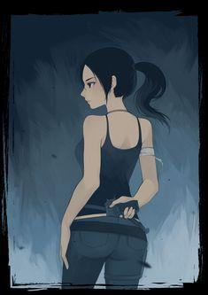 Lara Croft one of the greatest female heros.