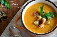 homemade potatoe pumpkin soup with roasted buttermilk bread nordbrise