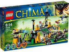 Lego Legends Of Chima - Playthèmes - 70134 - Jeu De Construction - La base Lion des Terres Lointaines: Amazon.fr: Jeux et Jouets