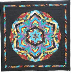 A Stitch in Time: Kaleidoscope Quilt Finished