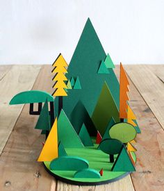 Ultralazer's Cut Paper Scenes You Can Hold in Your Hand