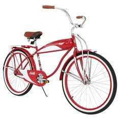 The 1952 Retro Cruiser is an Authentic Columbian 1952 Design.<br>This single speed Cruiser with coaster brake is build with a Hi-Tensile Steel Frame and Fork<br>The 1952 Retro Cruiser has an authentic design All-Steel Dimensional Tank and Chain Guard, you wont find plastic on this bike <br>The 1952 Retro Cruiser has a Columbia Embossed Saddle & Hand Grips<br>The 1952 Retro Cruiser is equipped with a deluxe steel rear cargo rack and kickstand,<br>The 1952 Retr...