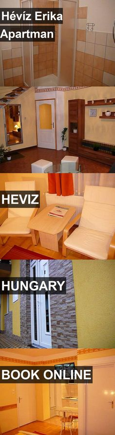 Hotel Hévíz Erika Apartman in Heviz, Hungary. For more information, photos, reviews and best prices please follow the link. #Hungary #Heviz #travel #vacation #hotel