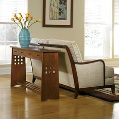 The simple but elegant design of this Stickley Sofa Table can help add visual interest to & Stickley Morris Recliner | Living in Leather | Pinterest ... islam-shia.org