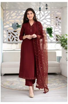 Indian Fashion Dresses, Dress Indian Style, Indian Designer Outfits, Indian Wear, Fashion Outfits, Stylish Dress Designs, Designs For Dresses, Stylish Dresses, Designer Party Wear Dresses