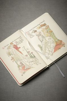 Walter Crane, one of the best-loved designers of the British Arts and Crafts movement, produced this beautifully illustrated poem that tells the story of a wedding day in 1905.