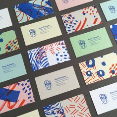 Ryan Putnam Business Card on Business Card Design Inspiration Stationery Design, Branding Design, Logo Design, Business Card Design Inspiration, Business Design, Name Card Design, Bussiness Card, Buch Design, Elegant Business Cards