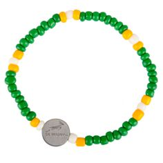 Our Official Springbok Rugby bracelet that can be worn all day every day to support The Bokke! R40 each, supports the Chris Burger Petro Jackson Players Fund www.beadcoalition.com Real Men, Beautiful Hands, Rugby, Charity, Jackson, African, Beads, Bracelets, Handmade