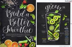 The commercial lettering side of my business is the most exciting! Seeing my work in Sainsbury's magazine felt like such an achievement and it also helped to show slightly confused relatives what I actually do!