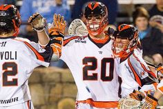 Midfielder Jeremy Sieverts was named the MLL Offensive Player of the Week for Week 1 of the 2012 MLL Season