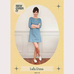 Sew Over It Lulu Dress sewing pattern