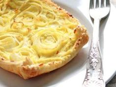 Torta salata porri e ricotta