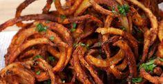 Křupavé spirálové hranolky s chilli a česnekem