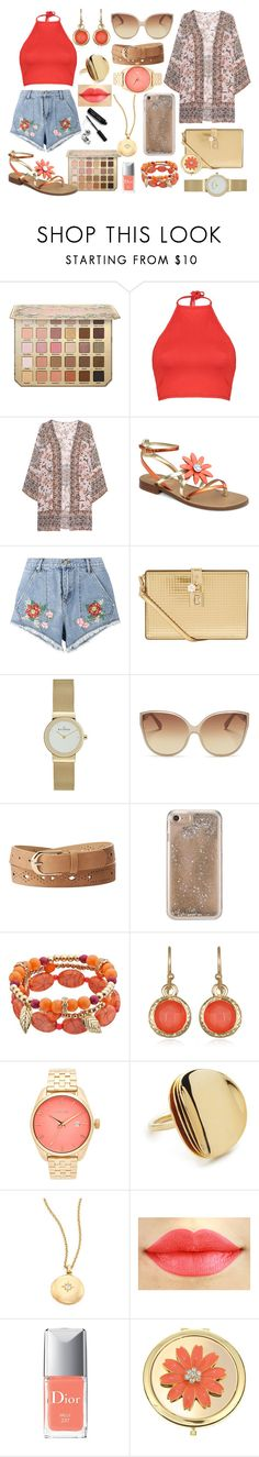 """""""outfit"""" by aletraghetti on Polyvore featuring moda, Boohoo, Frogbox, House of Holland, Dolce&Gabbana, Linda Farrow, Charlotte Russe, Agent 18, Mixit y Nixon"""