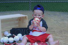 First birthday photo shoot at the baseball field! #baseball #firstbirthday #oneyearold #Babyboy #boysandbaseball #birthdaytheme #1yrsold #boy #ballfield #firstbirthdaypartytheme #sports #sportstheme