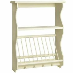 New French Style Country Cream Kitchen Plate Rack Wall Unit Shabby Chic | eBay