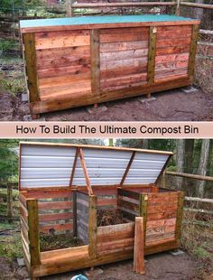 How To Build The Ultimate Compost Bin [important]Make sure you like living green and frugally on Facebook and follow us on Pinterest to be updated every
