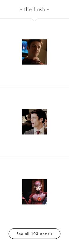 """+ the flash +"" by inviting-oblivion ❤ liked on Polyvore featuring grant gustin, the flash, people, arrow, dc comics, flash, cisco ramon, dc, costumes and pictures"