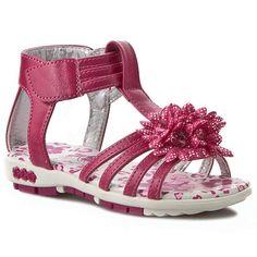 Sandále NELLI BLU - C147122309  Różowy Ciemny