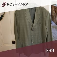 Men's blazer Men's Linen Blazer. Never worn 44R Jackets & Coats