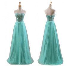Green Bridesmaid Dresses, Green Prom Dresses,Prom Dresses 2015,Long Prom Dresses,Women Summer Dresses,Formal Dresses, Long Evening Dresses
