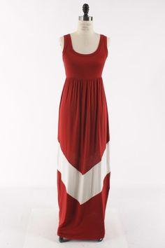 Alabama game day - maxi dress