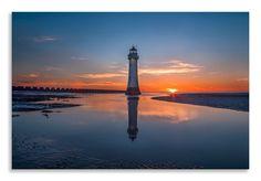 Check out our new Canvas Art  http://thousandface.myshopify.com/products/reflection-lighthouse-canvas-orange-blue-landscape-wall-art-picture-home-decor?utm_campaign=social_autopilot&utm_source=pin&utm_medium=pin  #canvas art # thousandface