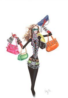 Trendy Tuesday - Sally, a irresistível It Bag da Chloe! It Bag, Fashion Art, Love Fashion, Fashion Models, Fashion Design, Paper Fashion, Moda Chic, Cool Style, My Style