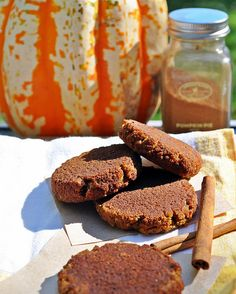 Chewy Pumpkin Paleo Snickerdoodles #TheFreckledFoodie