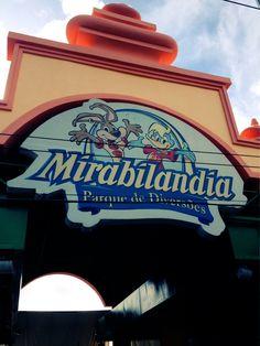 Mirabilândia...chegamos na Disney do Nordeste...uhuuu! #boralex #piralex