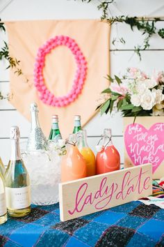 A Galentine's Day DIY Party | Glitter Guide | Styled by Beijos Events | Photo by Megan Welker