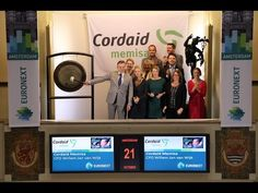 Cordaid Memisa vraagt met gongslag aandacht voor nieuwe campagne - YouTube