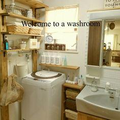 yunoさんの、バス/トイレ,ダイソー,ナチュラル,雑貨,100均,カフェ風,salut!,いいね&フォローありがとうございます☆,のお部屋写真