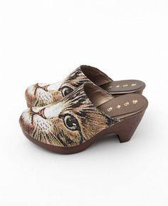 Cat clogs | あちゃちゅむ