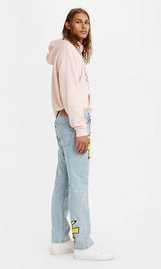 Levi's® X Pokémon 551z™ Authentic Straight Jeans - Light Indigo   Levi's® DE Levis, Indigo, Normcore, Style, Fashion, Fashion Styles, Old Clothes, Repurpose, Swag