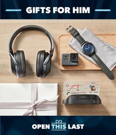 Best Buy helps you find great gifts for men of all ages. When it comes to great gifts for guys, you can't go wrong with a gift from Best Buy! Great Gifts For Guys, Unique Gifts For Her, Make A Gift, Gifts For Him, Cool New Tech, Boots Gifts, Promo Gifts, Camping With Kids, Cool Things To Buy