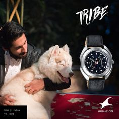 For the animal in every #Tribe. http://fastrack.in/tribe/sku/3117sl04