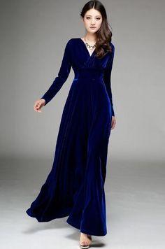 Бархатное платье   Черное бахатное платье