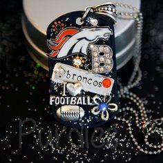 Denver Broncos Dog Tag