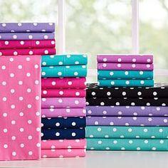 Sheets, Bed Sheets, Teen Sheets, Sheet Sets & Girls' Sheets (Purple) PBteen