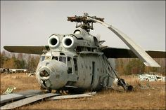 Irradiated giant helicopter mi6
