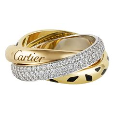 Cartier Trinity Sauvage: Will be mine... one day... #JeanCocteau