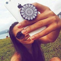 Taking a Selfie? The you NEED  a trendy PopSocket on your phone. When you have it,  you'll honestly wonder how you managed without it! http://www.secretfashionfixes.com/c/popsocket/66