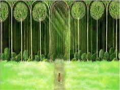 ...mi bosque sería algo así...