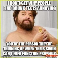 drunk text affection